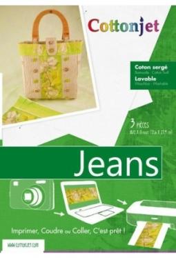 """Cotton Jet ® """"Jeans"""" zum Aufnähen"""