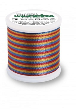 Rayon No. 40 Multicolor / 200 Mtr.